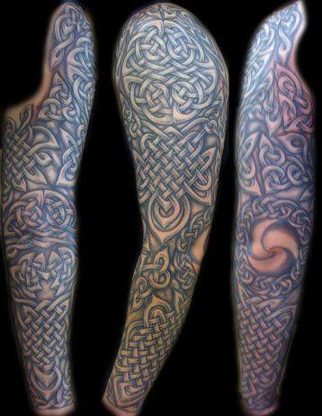 sleeve tattoo ideas designs for men - My ink ideasIrish Celtic Sleeve Tattoos