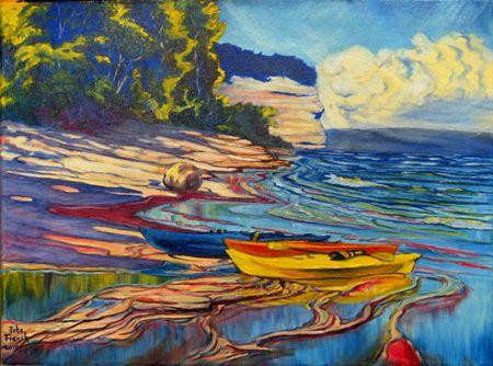 kayak flow... love the colors!
