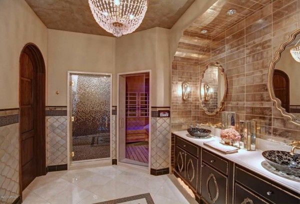 Master bathroom beautiful elegant bathrooms pinterest for Elegant master bathrooms pictures