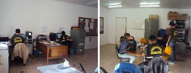 Sala do Departamento de Fiscalização Municipal (DPFM) - agosto 2014
