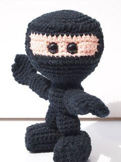 Ninja Amigurumi Free Pattern : good ninja instructions Amigurumi Pinterest