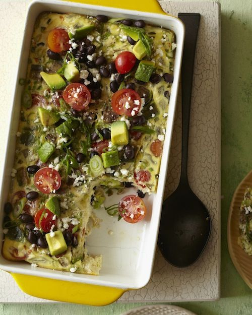 Southwestern Egg Casserole from Absolutely Avocados ...