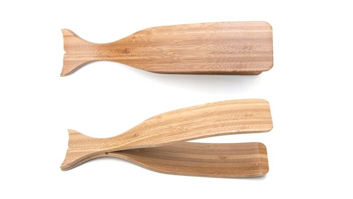 bamboo whale tongs / design house stockholm. LOVE these!