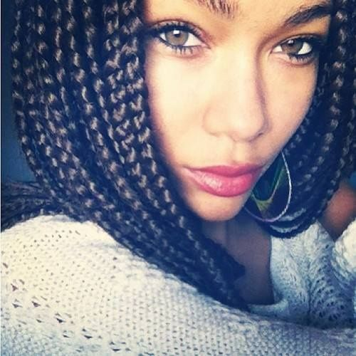 Crochet Box Braids In A Bob : box braids
