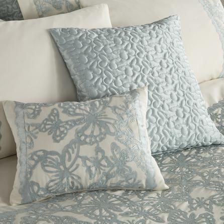 Duck egg blue ivory evie bedding for Bedroom ideas duck egg blue