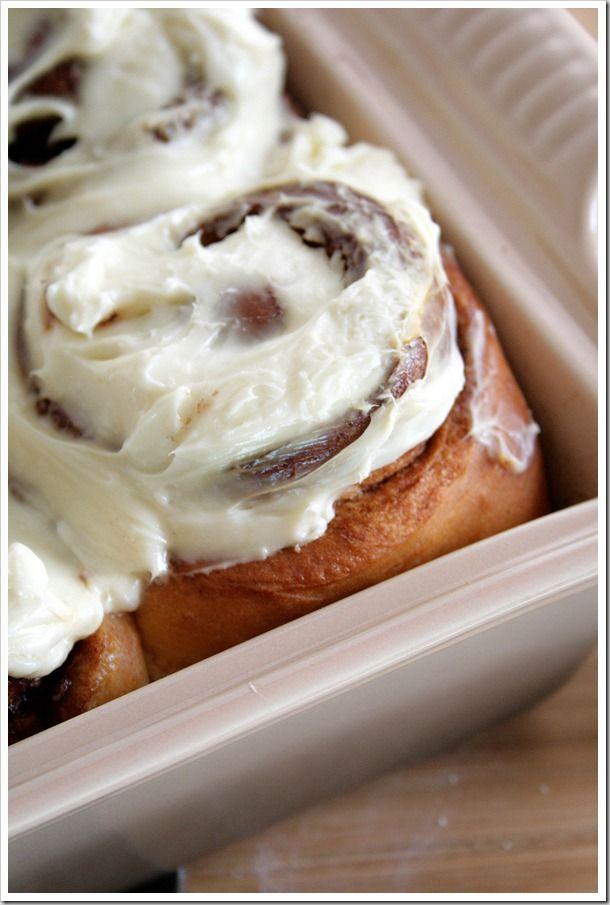 Cinnamon Raisin Buns (1) From: Dough Messtic, please visit