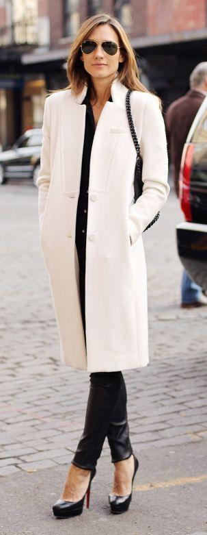 Preto + conjunto branco.
