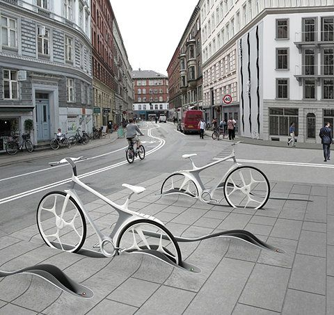 New Bike Share System by RAFAA (CH) @ Dailytonic
