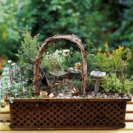 Small Whimsical Garden Ideas Photograph Fancy The Fairies