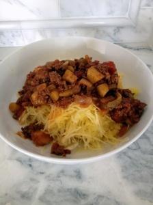 sneaky spaghetti squash spaghetti | 00-Menu next two weeks | Pinterest