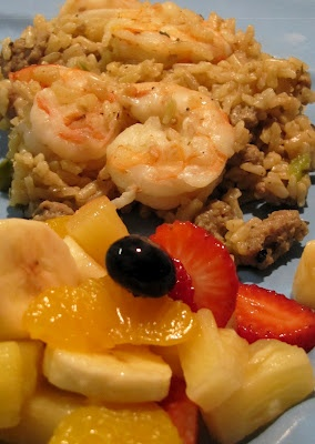 Dirty Rice with Shrimp! | Dirty Rice | Pinterest
