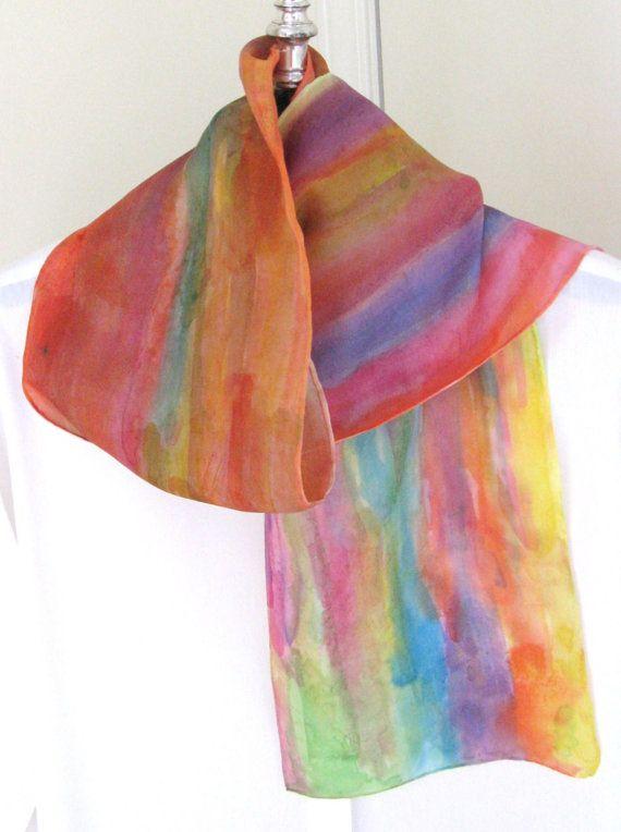 a wonderful scarf from silkdesignbyjane