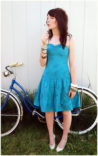 Summer Dresses and the Bicycle