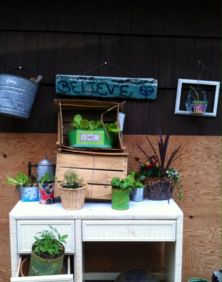wooden plant crates used to house plants that don 39 t need as much sun