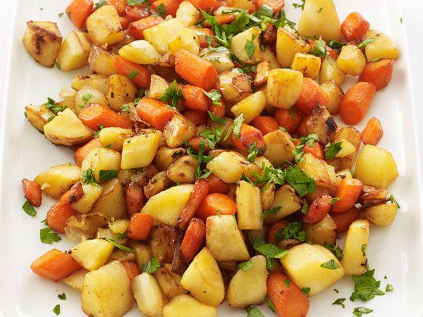 Roasted Root Vegetables #FNMag