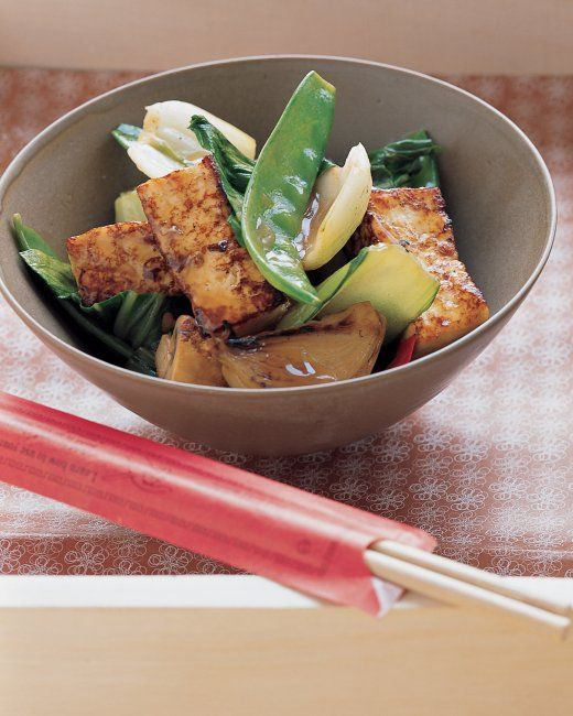QUICK BETTER-THAN-TAKEOUT RECIPES: Tofu Stir-Fry