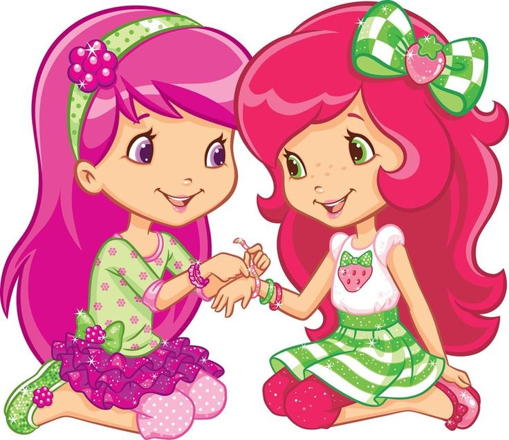 Girlfriends   Strawberry Shortcake   Pinterest