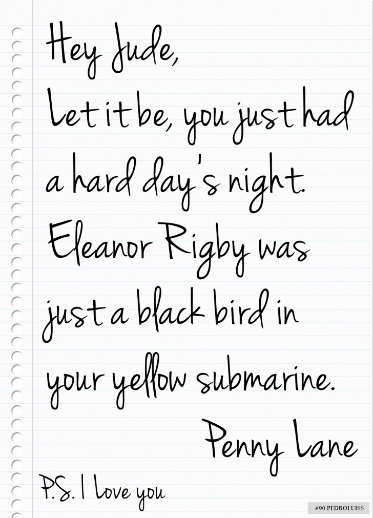 A Beatles Love Letter