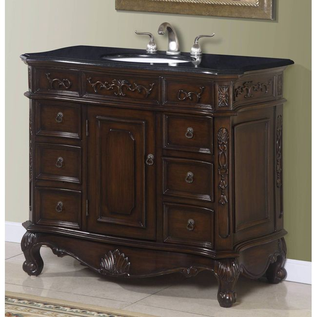 Small Bathroom Vanity With Granite Top :