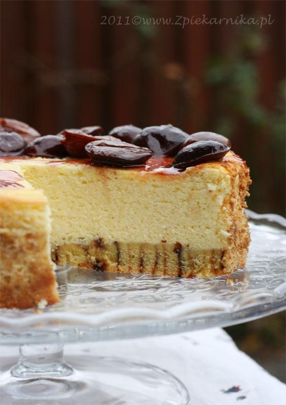 Orange-plum cheesecake | Cakes | Pinterest