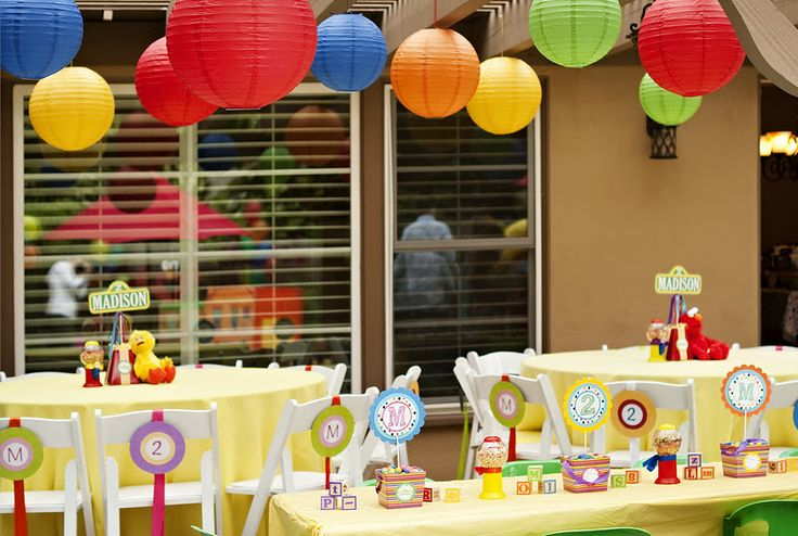 Sesame street 2nd birthday party kara 39 s party ideas for 2nd birthday decoration ideas