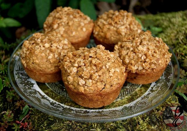 Applesauce Oatmeal Muffins | Muffins | Pinterest