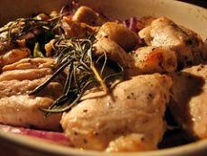 Baked Chicken Rosemary | Havin' Chicken Tonight | Pinterest