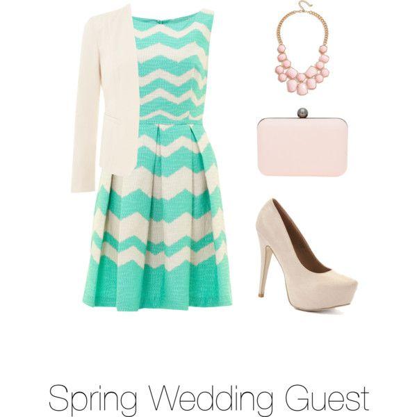 spring wedding guest