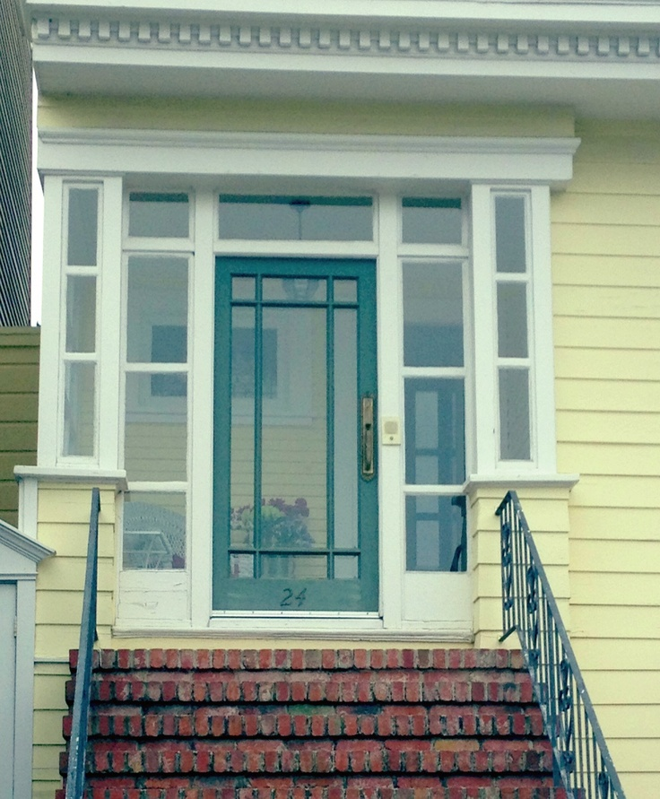 Small Enclosed Front Porch Entry: Enclose The Front Porch.
