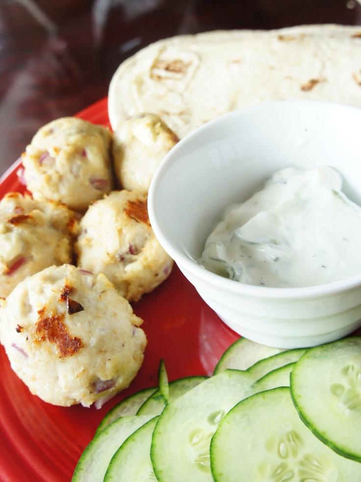 Greek turkey meatballs | Savory | Pinterest