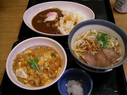 tama curry: beef curry over rice topped with onsen tamago (poached egg ...
