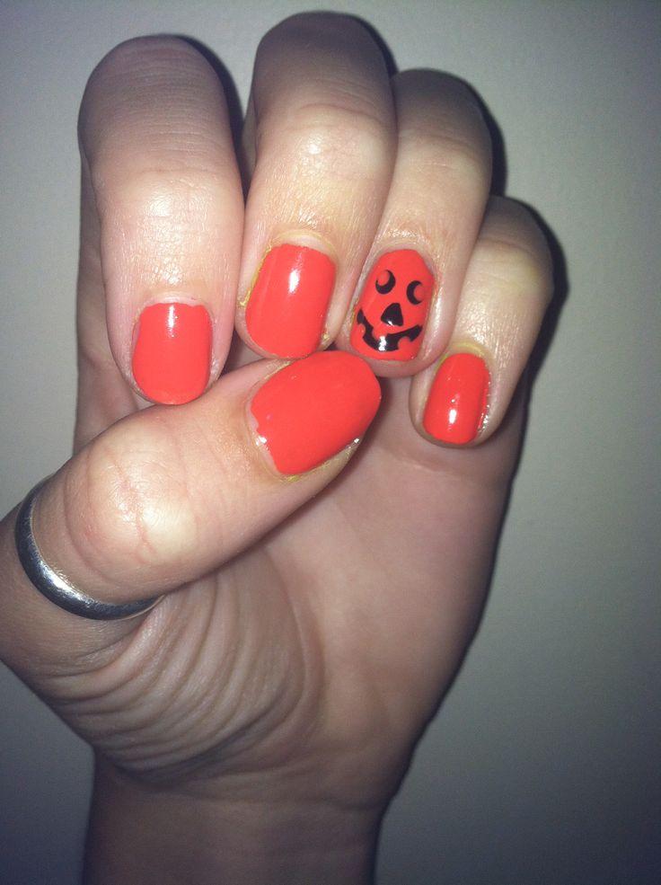 Halloween nail art nail art pinterest - Nail art halloween ...