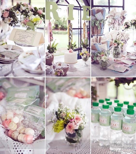 botanical garden themed baby shower