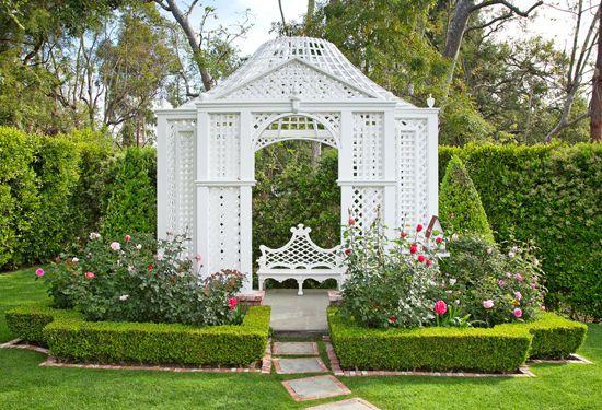 Romantic Folly Garden Spot Pinterest