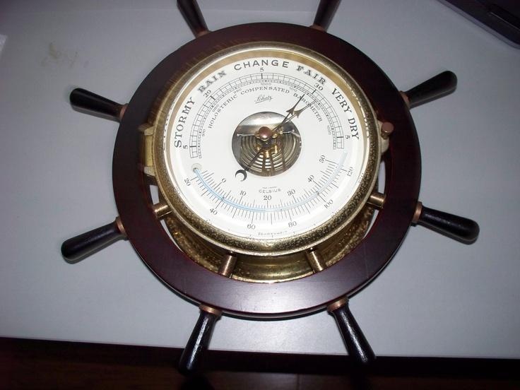Vintage Schatz Holosteric Compensated Barometer   eBay