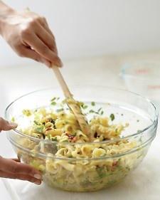 Pasta Carbonara with Leeks and Lemon - Martha Stewart Recipes