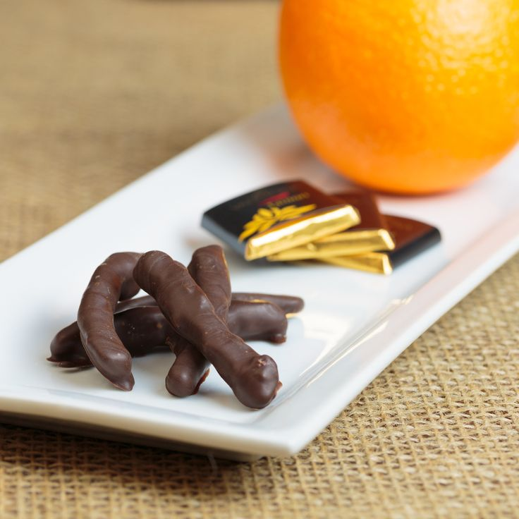 Chocolate Covered Candied Orange Peel | Recipes | Pinterest