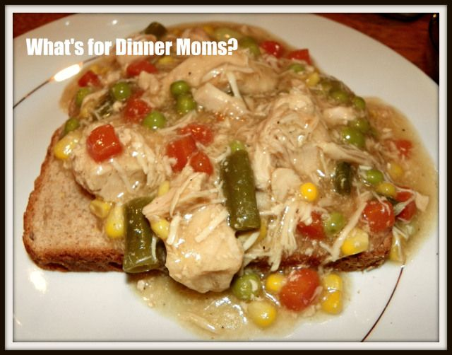 Slow Cooker Chicken Pot Pie | What's for Dinner Moms? Recipes I have ...