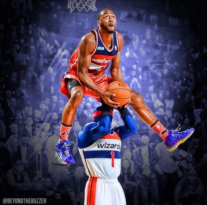 John Wall Dunk Contest For Kids