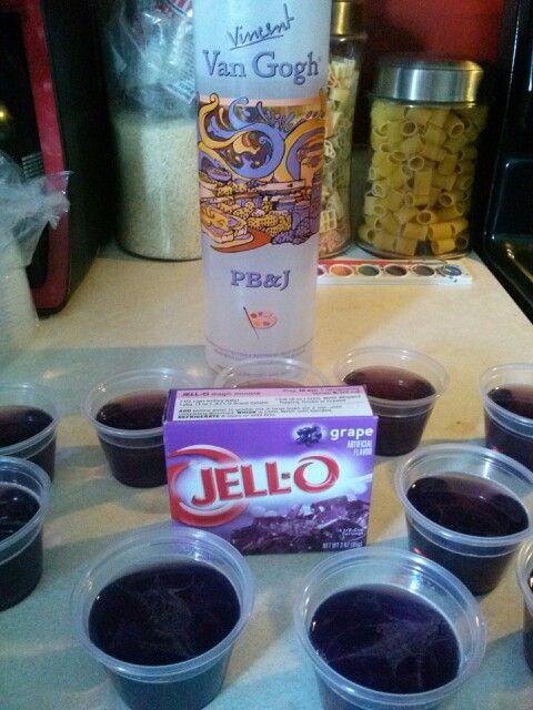 Pb J Vodka Drink Recipes