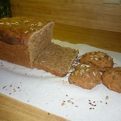 Whole Wheat Seed Bread ~ a delicious recipe with cancer-fighting flax seed