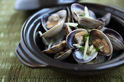 Drunken Clams Recipe