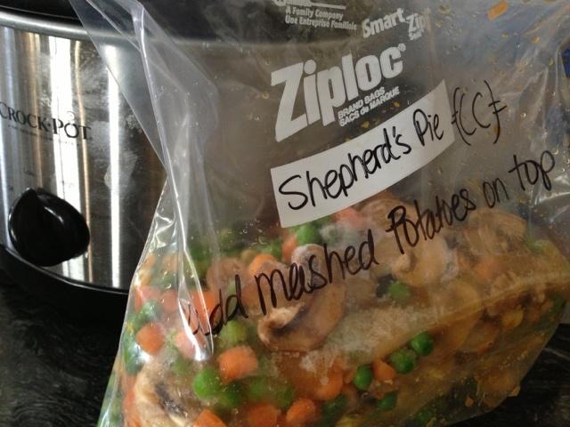 Crock Pot Shepherds Pie add ground turkey and beef though :)