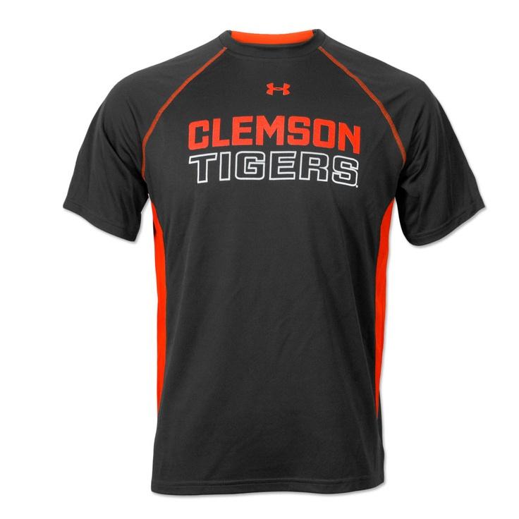 Clemson Tigers Under Armour T Shirt Clemson T Shirts