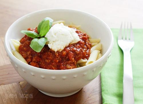 Crock Pot Pasta Sauce with Sausage   Recipe
