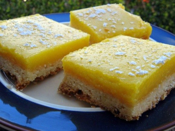 Lemon bars by ATK. Reduced-Fat Lemon Squares: http://www.recipething ...