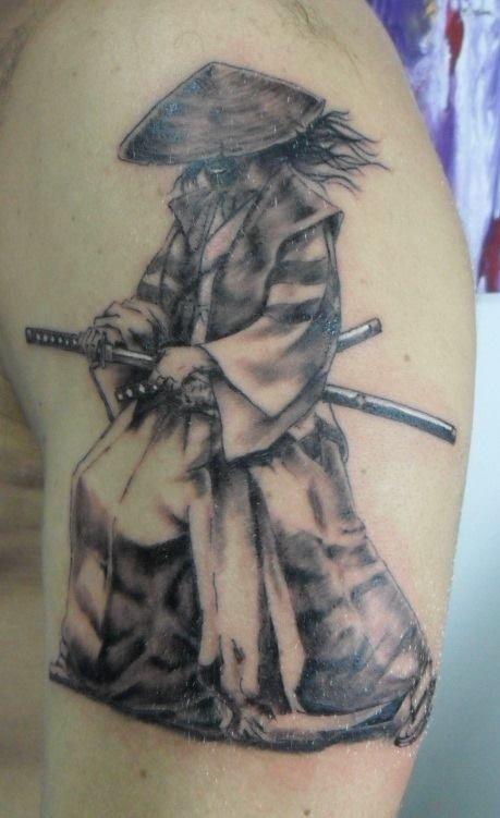 Samurai Tattoo Tattoo My Work Barracuda Pinterest