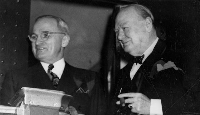 Winston churchill quot iron curtain quot speech at westminster college msa