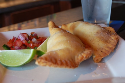 , an empanada is essentially a stuffed pastry. Empanada The filling ...