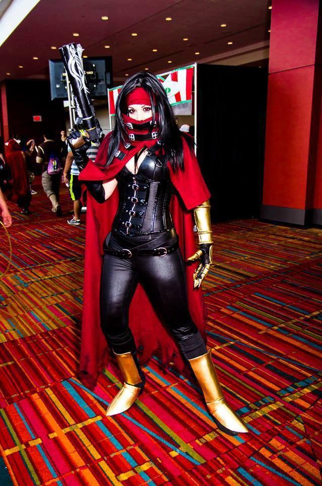 vincent valentine girl cosplay